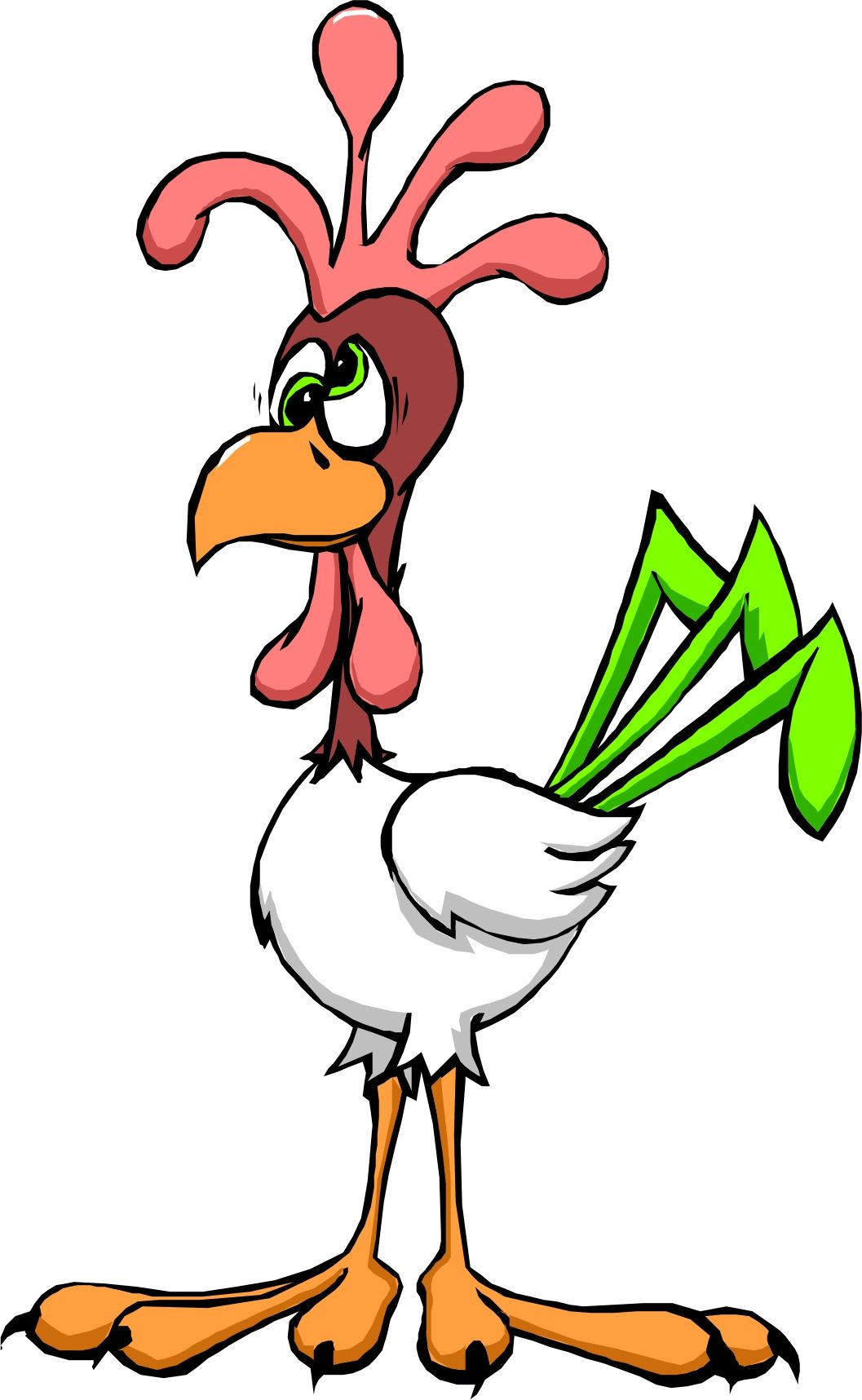 Cartoon chickens best backgrounds. Animals clipart chicken