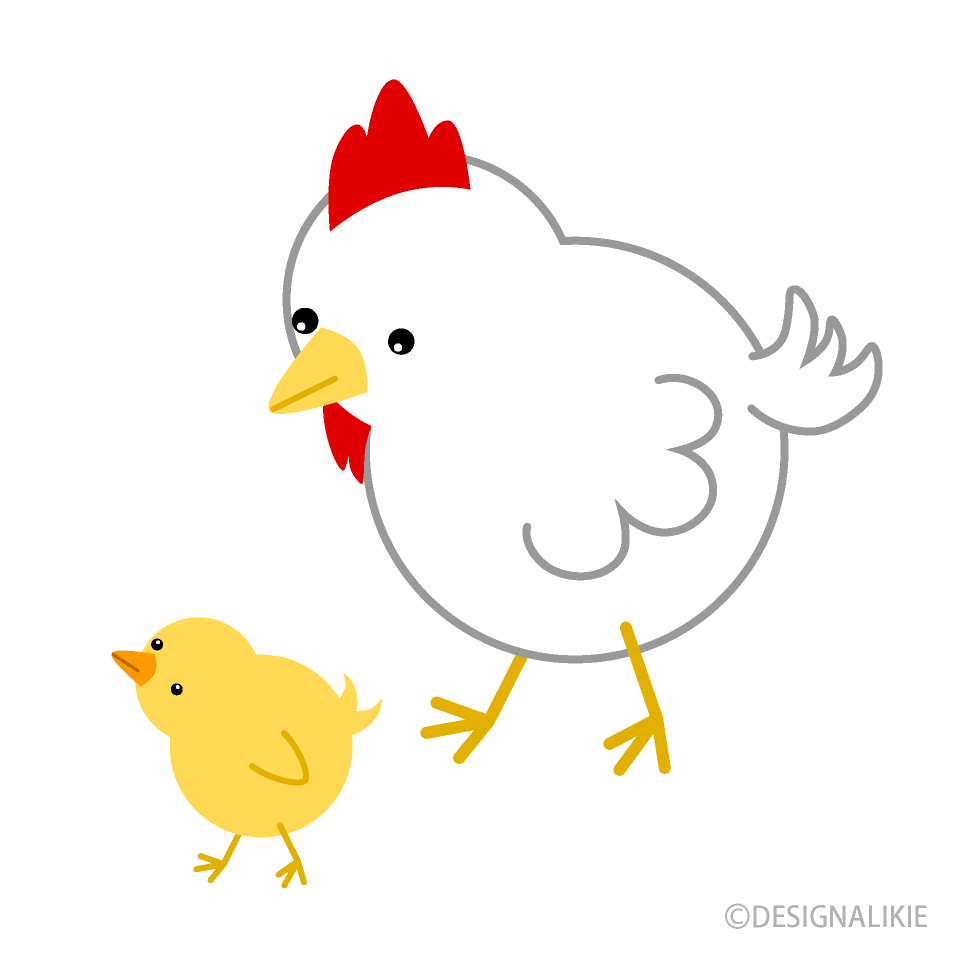 Chicken and free picture. Chickens clipart chick