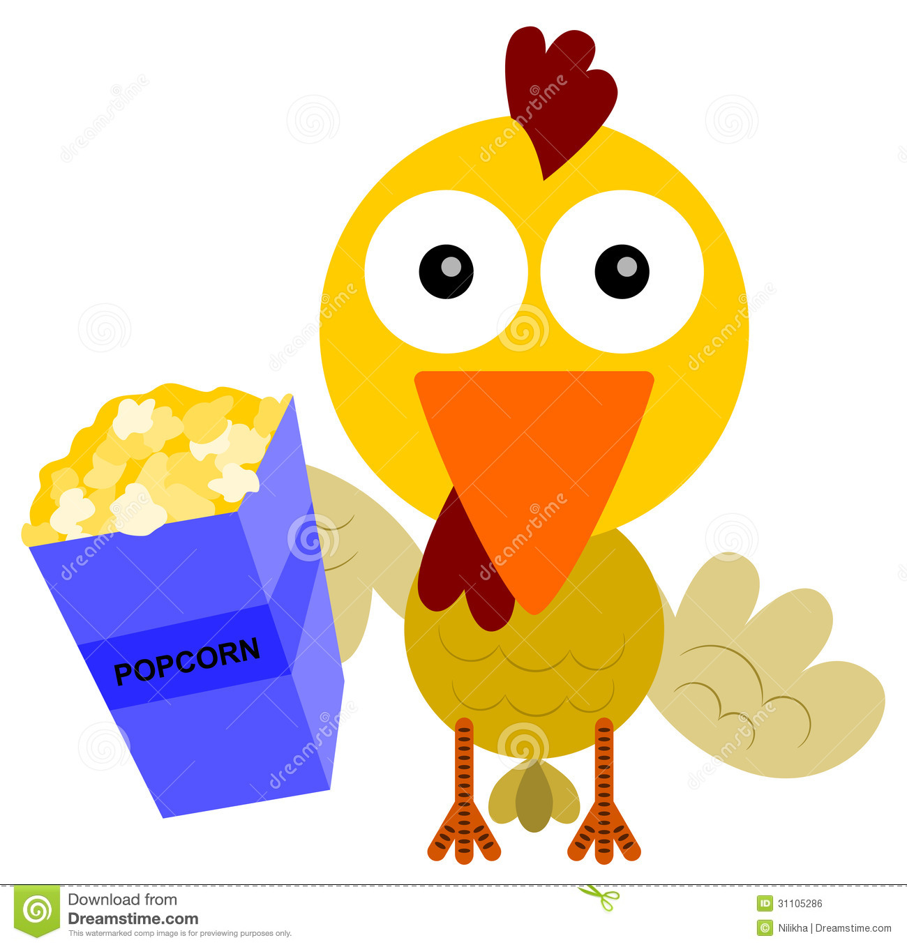 Chick eating pencil and. Chicken clipart clip