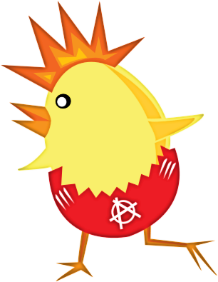 Free chick public domain. Chicken clipart easter