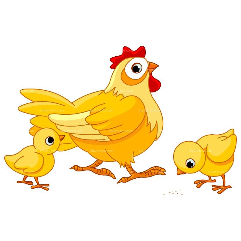 Chickens clipart rotisserie chicken. Farm animals hen pencil