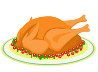 Free meat clip art. Chickens clipart food