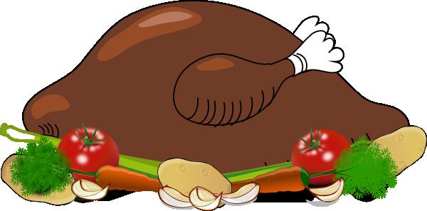 Clip art at clker. Dinner clipart chicken dish