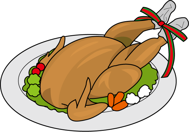 Dinner clipart meat plate. Free turkey chicken cliparts