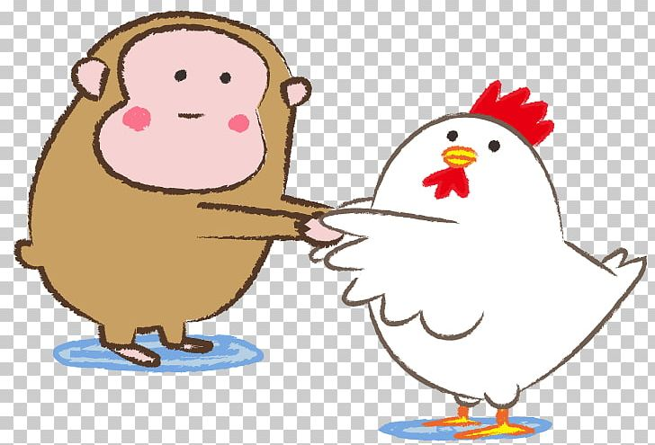 Rooster sexagenary cycle png. Chicken clipart monkey