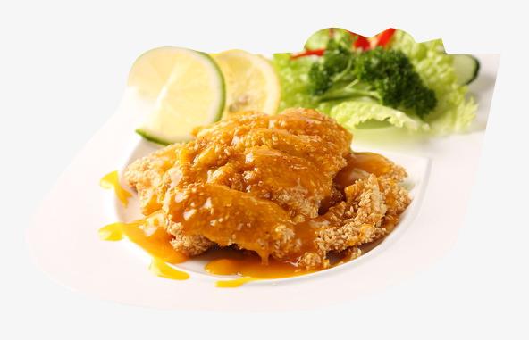 Lemon row decoration product. Chicken clipart orange chicken