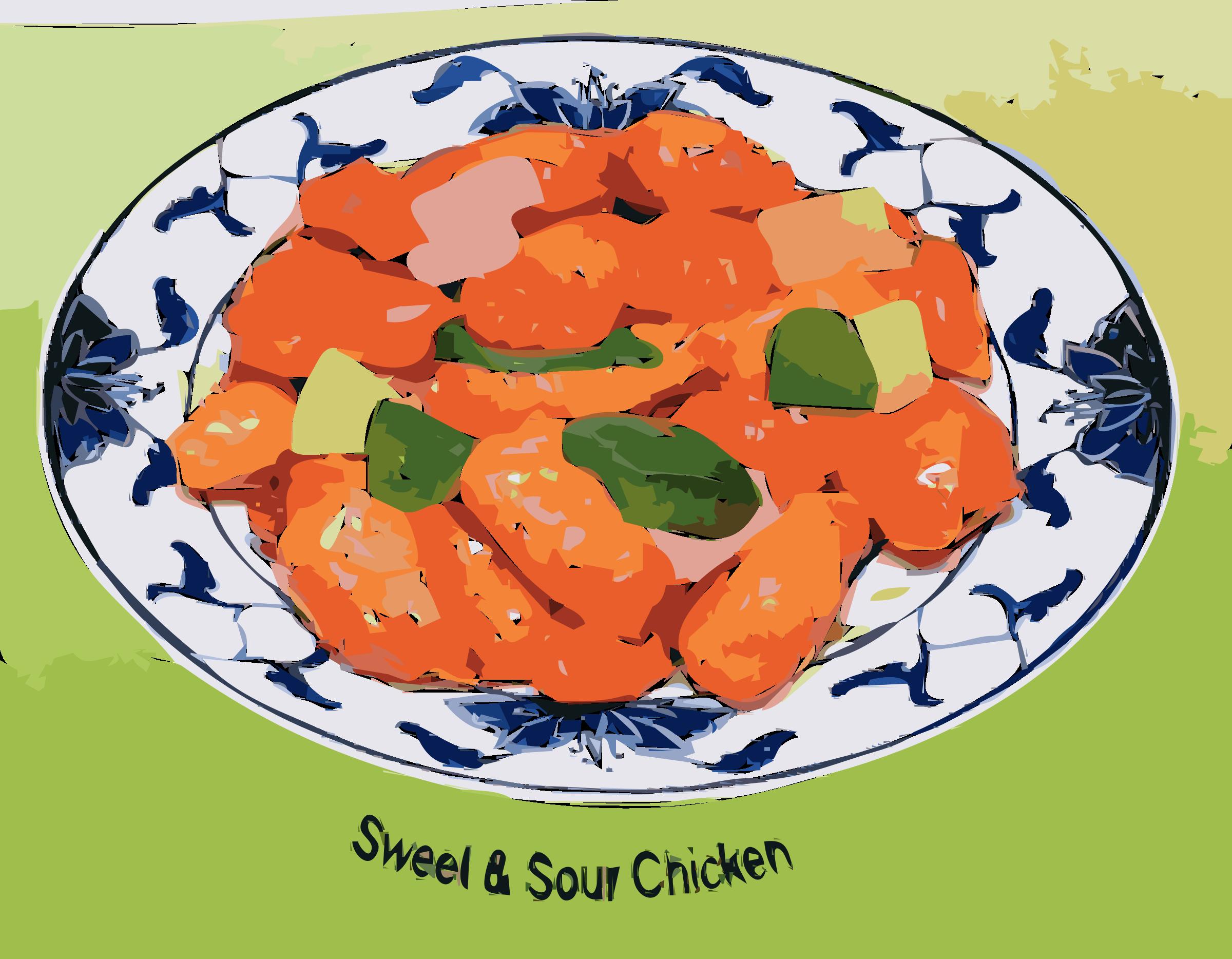 Chicken clipart orange chicken. Sweet sour big image