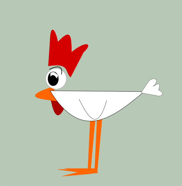 Chicken clipart printable. Free funny graphics and