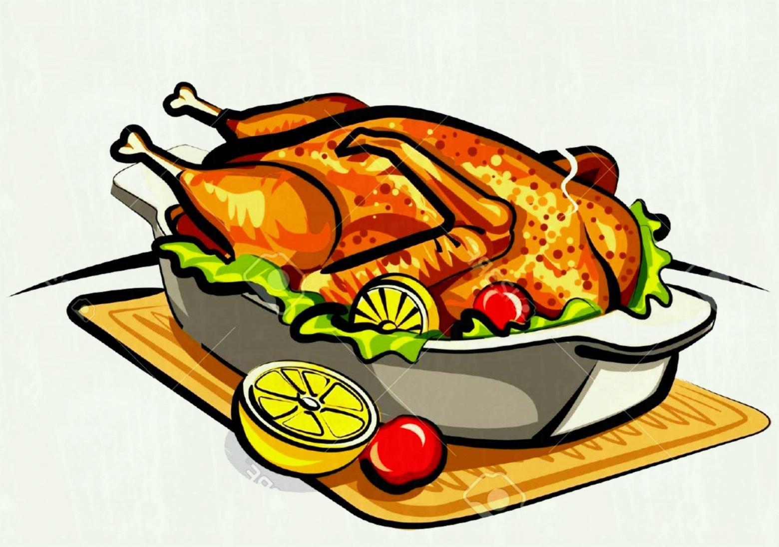 Station . Chicken clipart roasted chicken