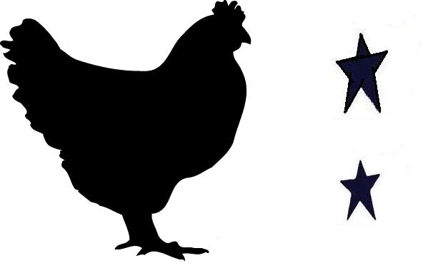 picture relating to Chicken Stencil Printable identified as Chickens clipart stencil, Chickens stencil Clear Cost-free