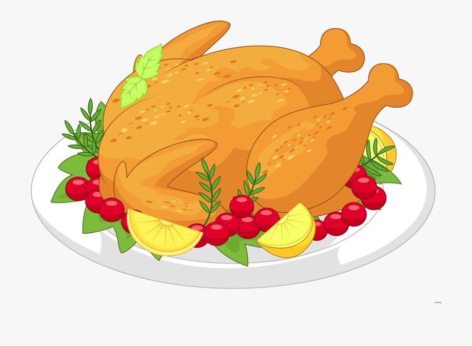 Feast clipart roast chicken. Bing cliparts thanksgiving clip