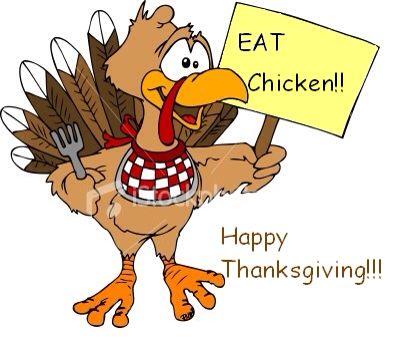 Chicken thanksgiving