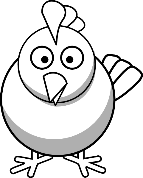 Chickens clipart black and white. Vintage chicken panda free