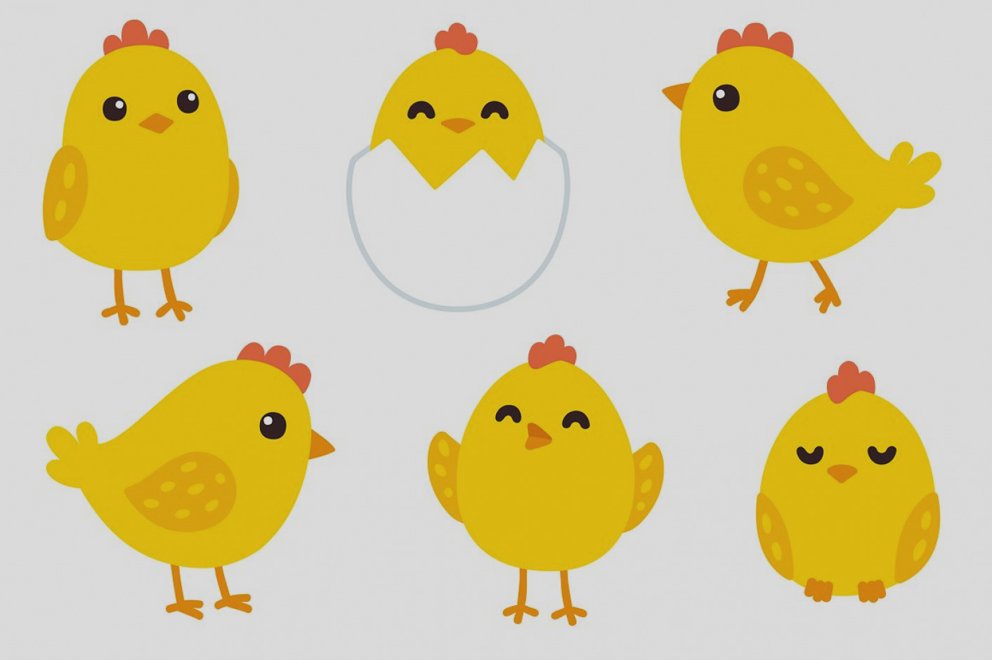 Chickens clipart chick. Awesome baby clip art
