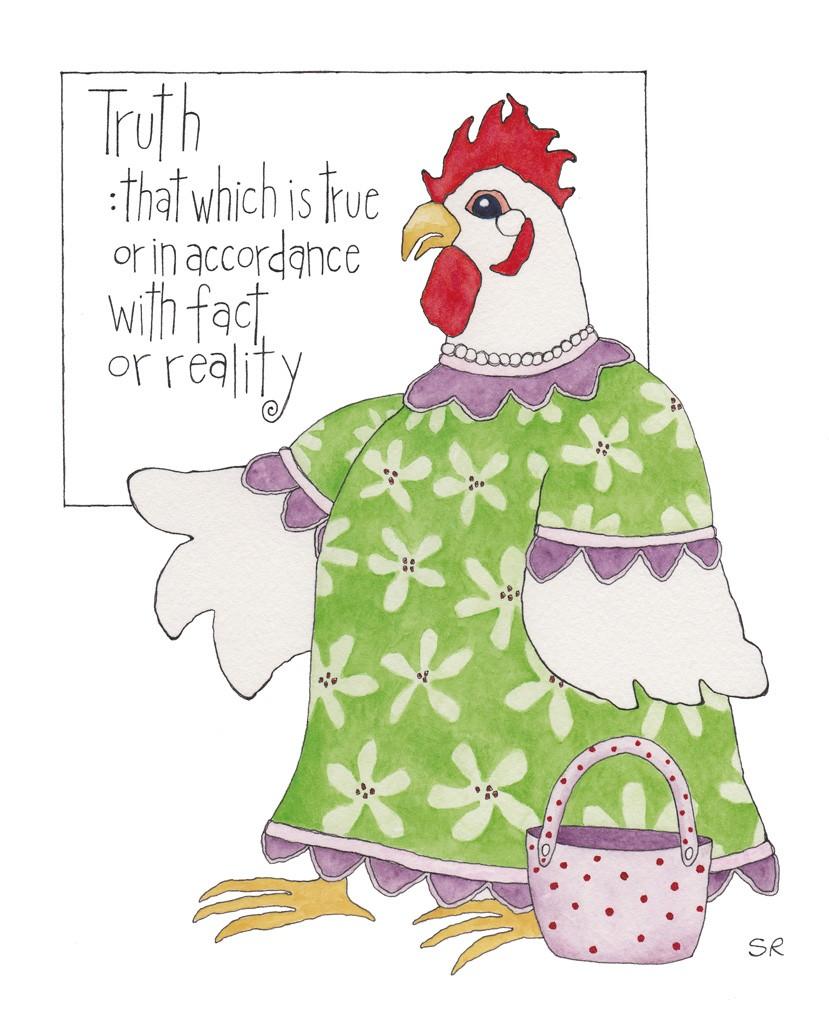 Artist sarah rosedahl s. Chickens clipart chicken dish