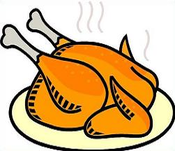 Free food. Clipart chicken