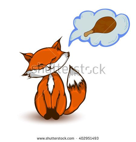 Chickens clipart fox.  best cartoon images