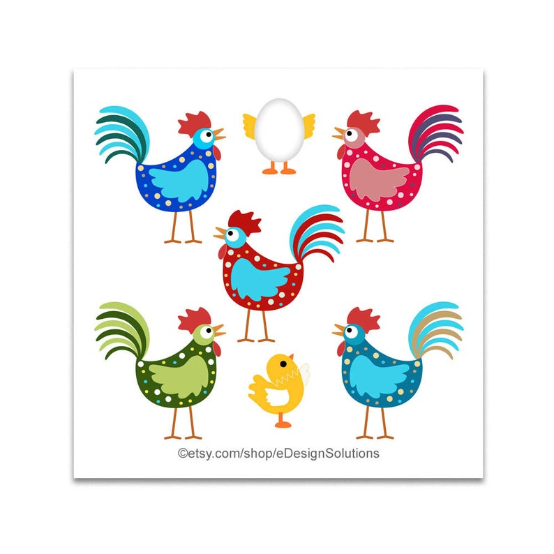 Cartoon chicken baby chick. Chickens clipart hen