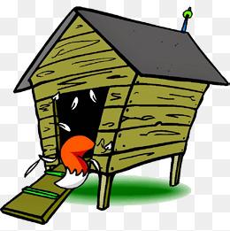 Chickens clipart hen house. Cartoon chicken png vectors