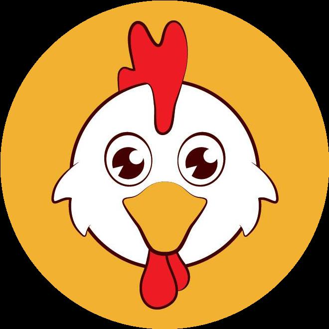 Chicken crispy full size. Chickens clipart logo