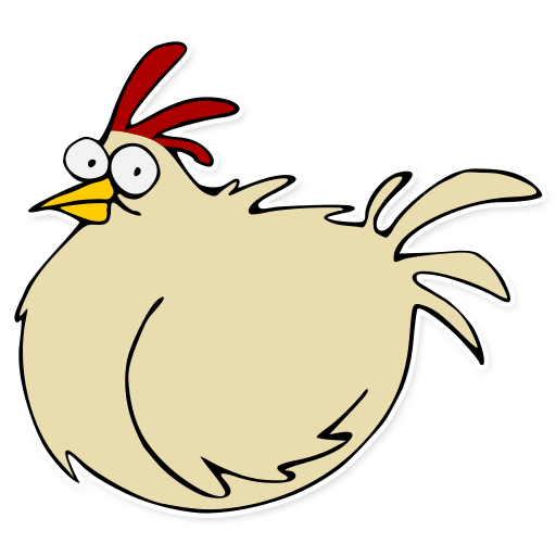 Chickens clipart monkey. A feral chicken from