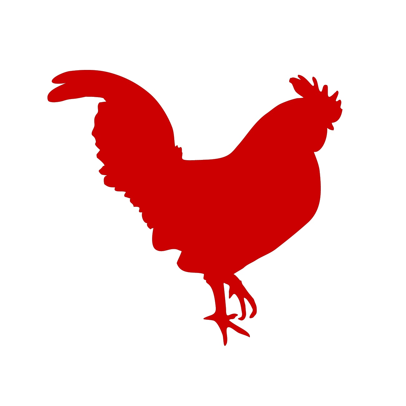 Silhouette clip art at. Chickens clipart rooster