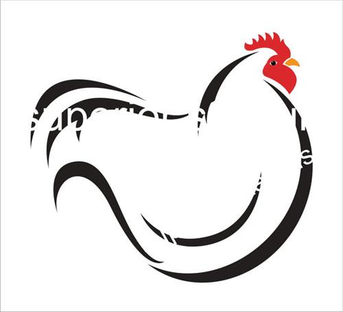 French hen stencils create. Chickens clipart stencil