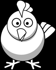Chicken clip art panda. Chickens clipart vector
