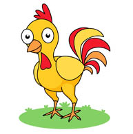 Animals clipart rooster. Free chicken clip art