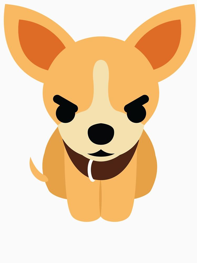 Emoji and mad look. Chihuahua clipart angry chihuahua