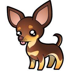 Chihuahua clipart animated. Cartoon black and tan