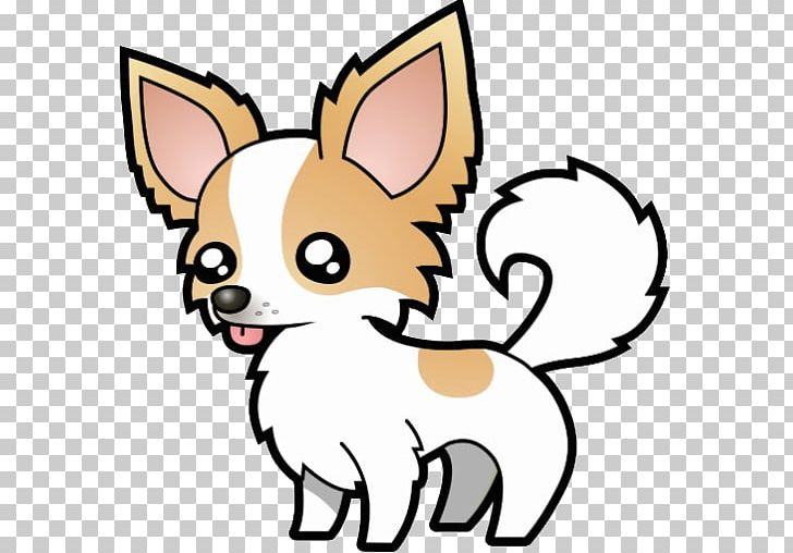 Puppy cartoon drawing png. Chihuahua clipart animated