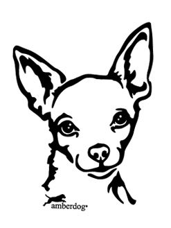 Free cliparts download clip. Chihuahua clipart black and white