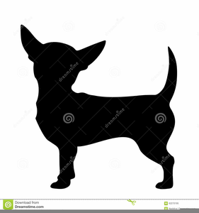 Free images at clker. Chihuahua clipart black and white