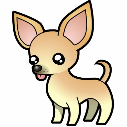 Image of dog free. Chihuahua clipart cartoon
