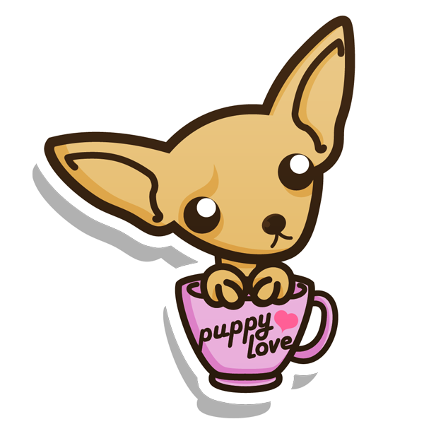 Drawn pencil and in. Chihuahua clipart chibi