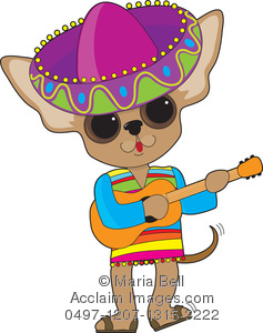 Guitar image . Mexican clipart chihuahua mexican