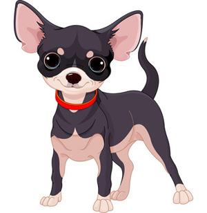Cute dog clip art. Chihuahua clipart chihuahua puppy
