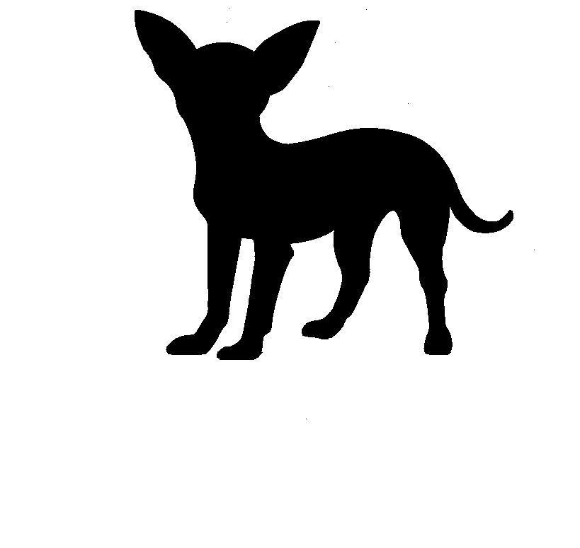Free black cliparts download. Chihuahua clipart chihuahua silhouette