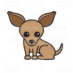 Free svg file download. Chihuahua clipart chiwawa