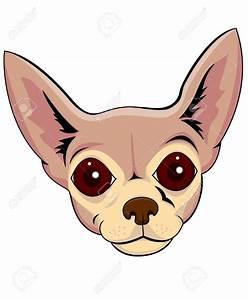Small chiwawa pencil and. Chihuahua clipart face