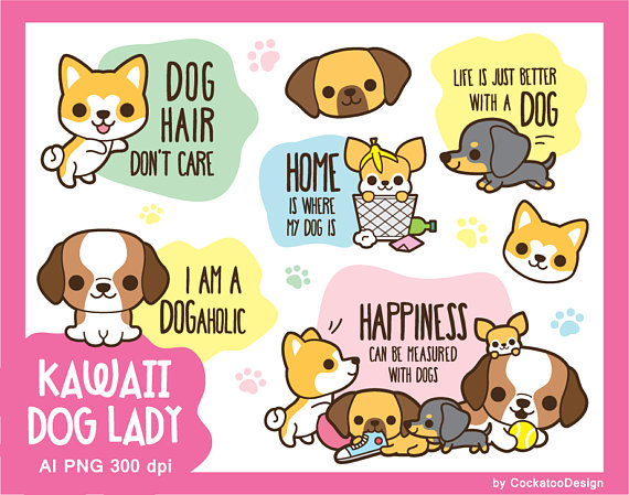 Chihuahua clipart kawaii.  off dog cute