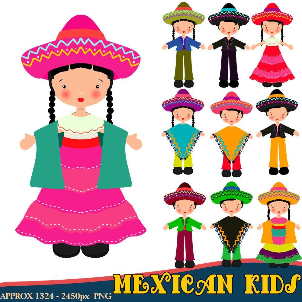 Children fiesta . Pinata clipart kid mexican