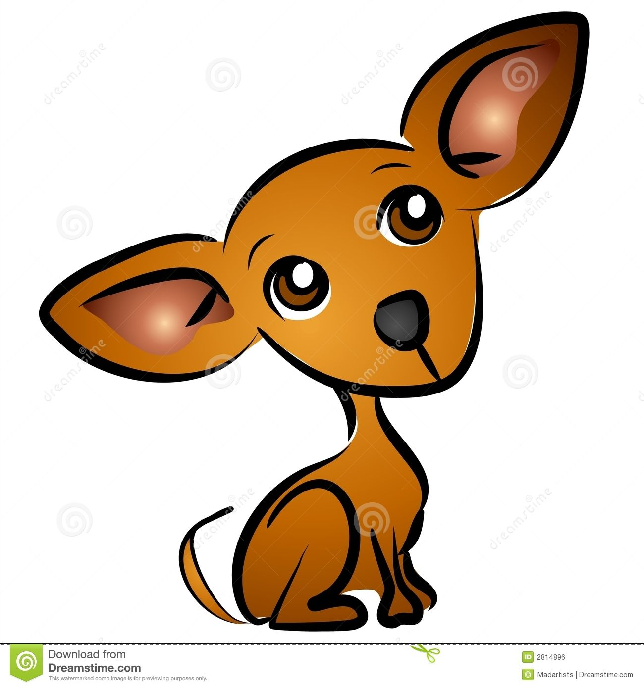 Sad eyes dog puppy. Beagle clipart chiwawa