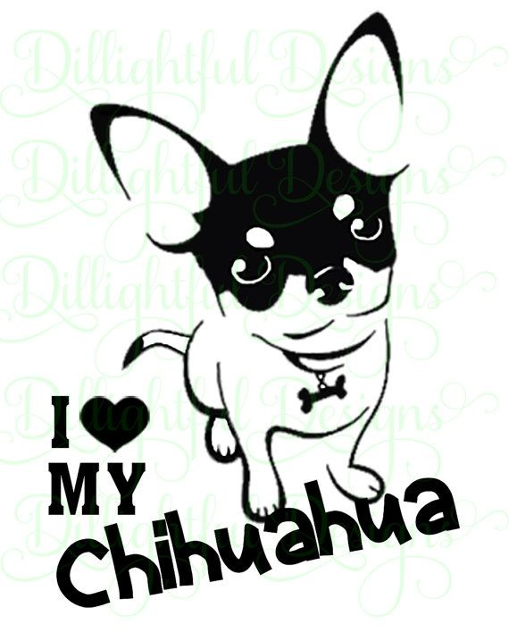best dogs and. Chihuahua clipart svg