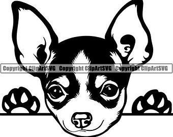 Chihuahua clipart svg. Etsy