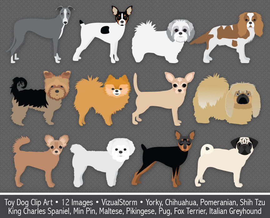 Toy clip art digital. Chihuahua clipart tiny dog