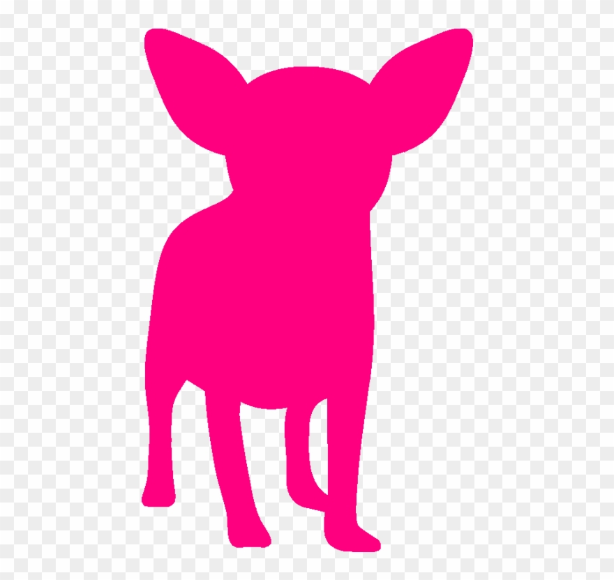 Chihuahua clipart transparent. Pink pinclipart