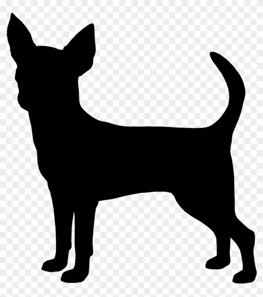 Tell a friend silhouette. Chihuahua clipart transparent