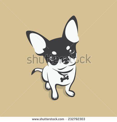 Chihuahua clipart vector. Stock vectors clip art